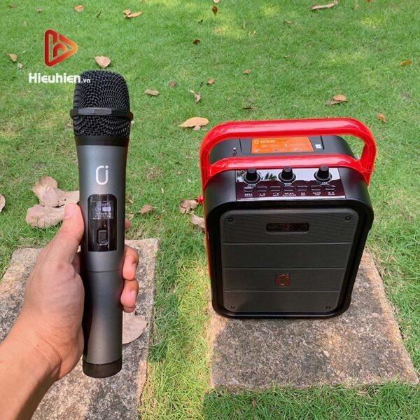 loa xách tay karaoke bluetooth jyx ms62bt - tặng micro không dây - hình 13