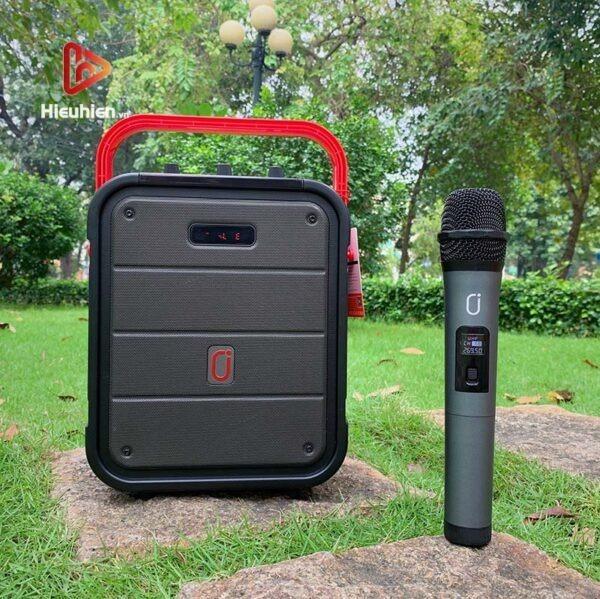 loa xách tay karaoke bluetooth jyx ms62bt - tặng micro không dây - hình 14