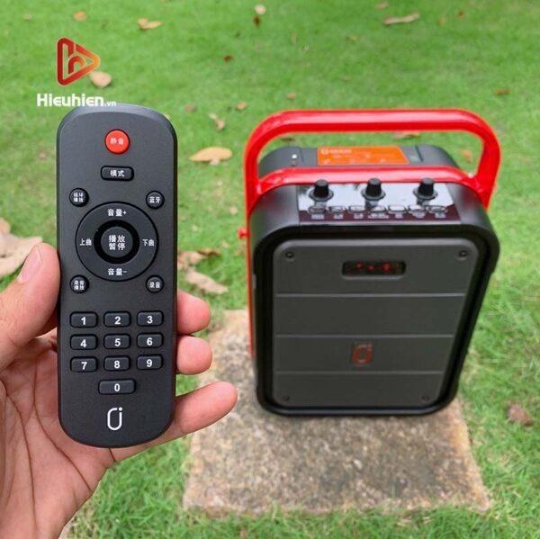 loa xách tay karaoke bluetooth jyx ms62bt - tặng micro không dây - hình 15