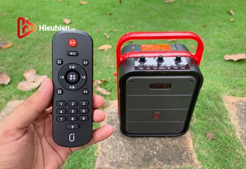 loa xách tay karaoke bluetooth jyx ms62bt - tặng micro không dây - hình 02
