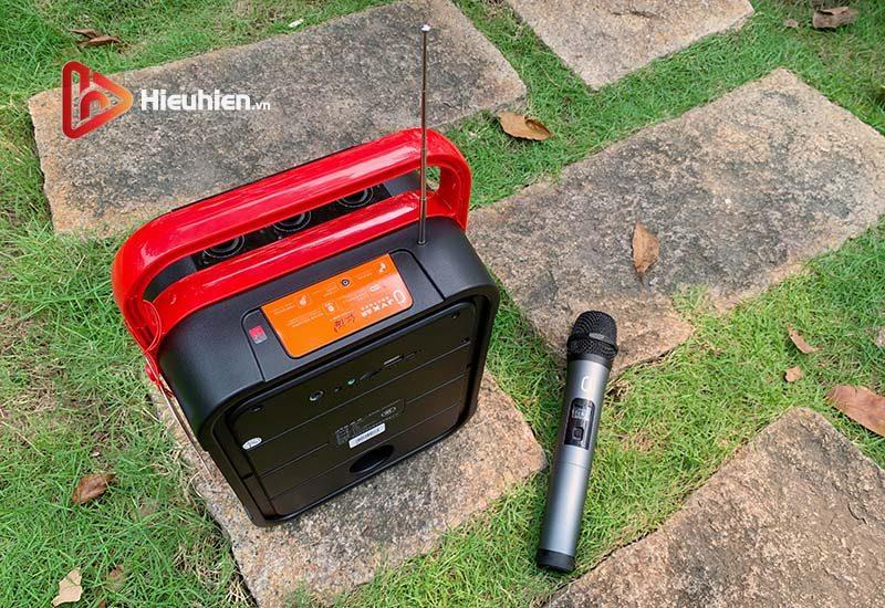 loa xách tay karaoke bluetooth jyx ms62bt - tặng micro không dây - hình 04