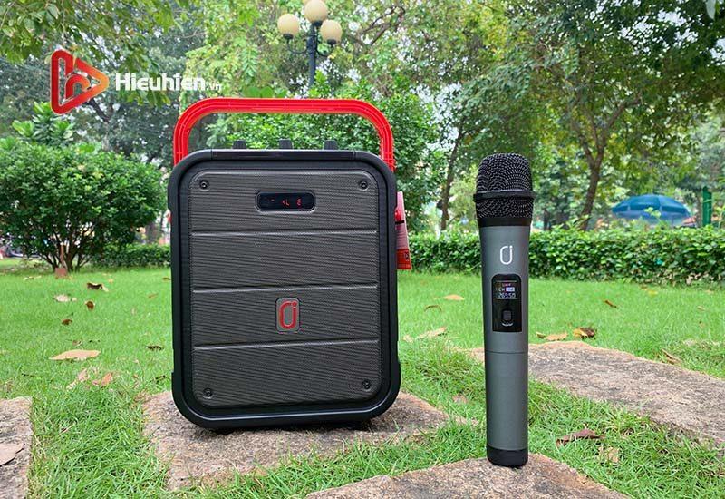 loa xách tay karaoke bluetooth jyx ms62bt - tặng micro không dây - hình 06