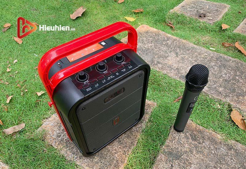 loa xách tay karaoke bluetooth jyx ms62bt - tặng micro không dây - hình 08