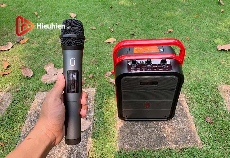 loa xách tay karaoke bluetooth jyx ms62bt - tặng micro không dây - hình 09