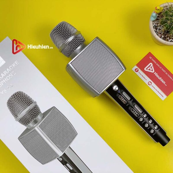 magic karaoke ys-92 - micro karaoke kèm loa bluetooth 3 trong 1 - hình 01