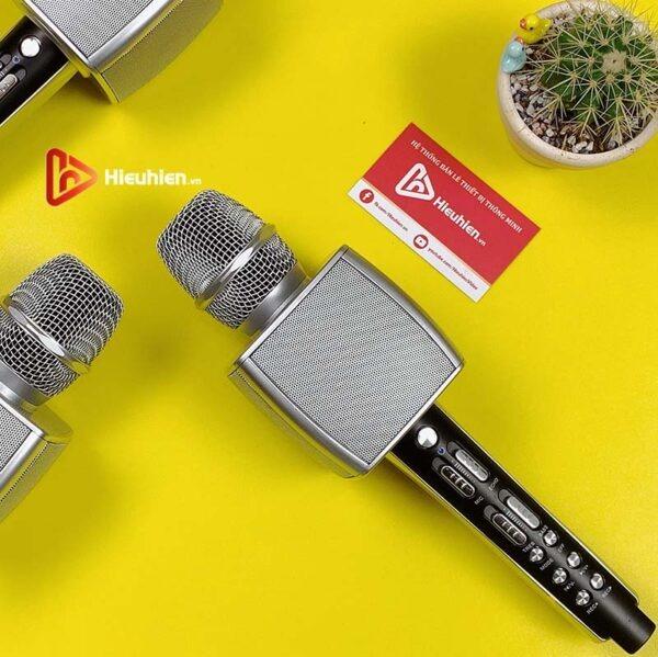 magic karaoke ys-92 - micro karaoke kèm loa bluetooth 3 trong 1 - hình 03