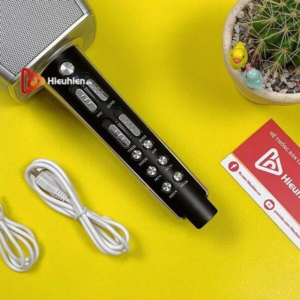 magic karaoke ys-92 - micro karaoke kèm loa bluetooth 3 trong 1 - hình 08