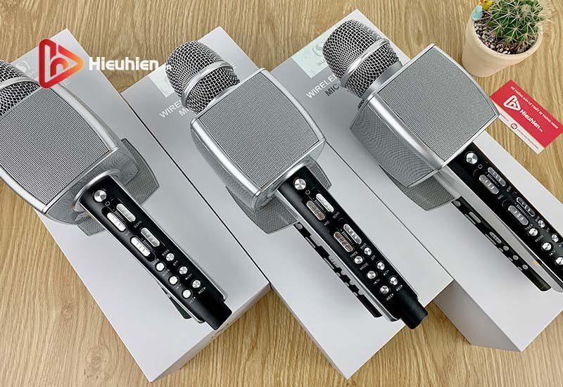 magic karaoke ys-92 - micro karaoke kèm loa bluetooth 3 trong 1 - hình 10