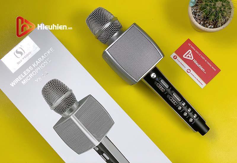 magic karaoke ys-92 - micro karaoke kèm loa bluetooth 3 trong 1 - hình 11