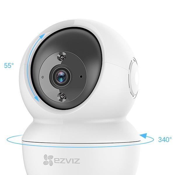 ezviz cs-c6n full hd 1080p - camera quan sát trong nhà điều chỉnh xoay - hinh 01