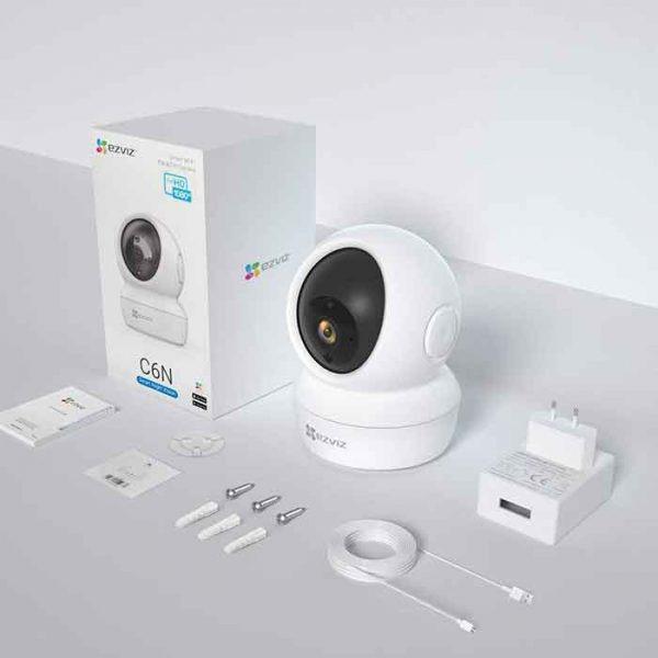 ezviz cs-c6n full hd 1080p - camera quan sát trong nhà điều chỉnh xoay - hinh 03