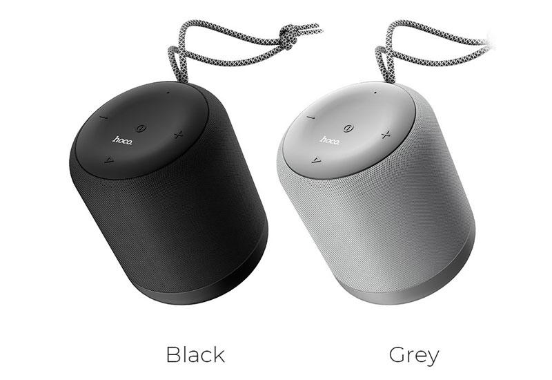 loa bluetooth hoco bs30 với 2 màu black và Grey