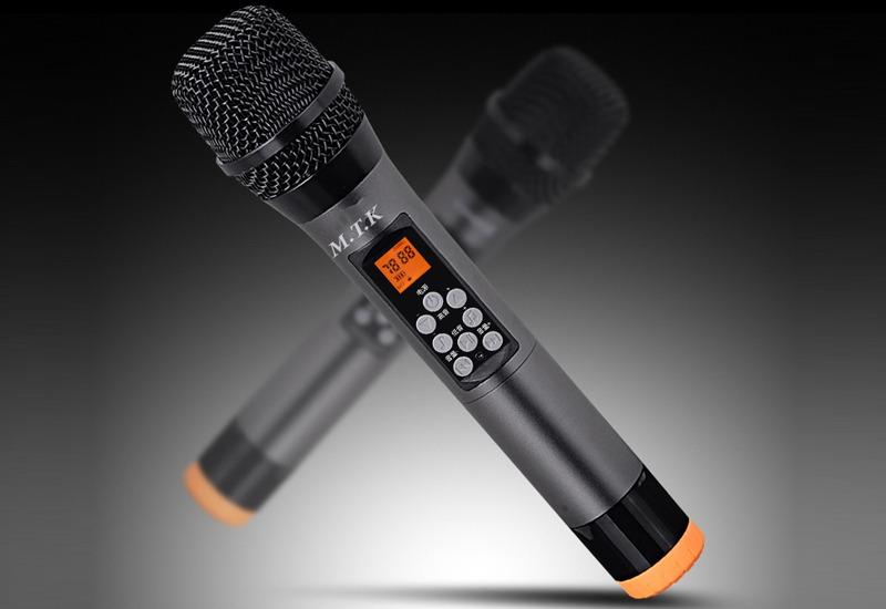 micro không dây mtk 1a âm thanh hay nút chỉnh bass treble