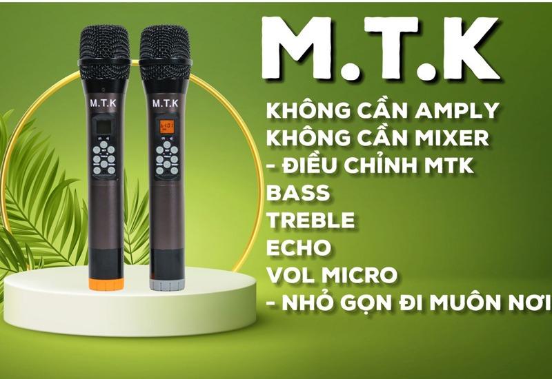 micro không dây mtk 1a âm thanh hay ưu điểm nổi bật