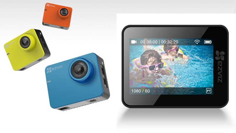 top phụ kiện công nghệ du lịch - camera hành trình ezviz s2-sp206