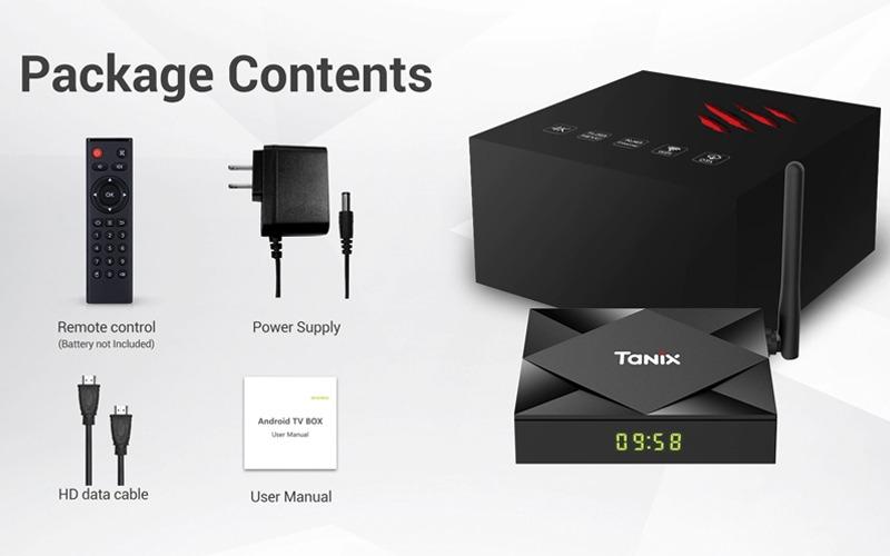 Trọn bộ sản phẩm Tanix TX6S