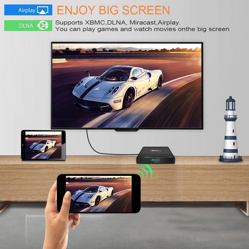 X96 Air phản chiếu màn hình