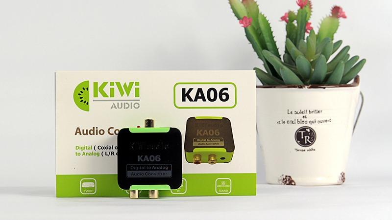 Bộ chuyển đổi âm thanh quang Kiwi KA06