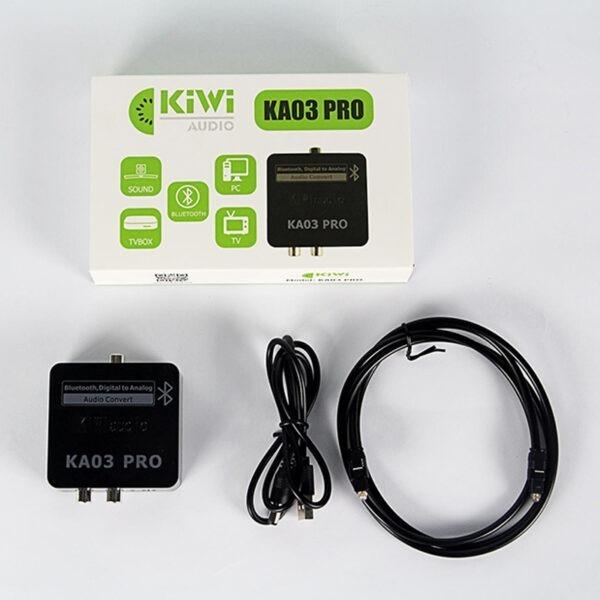 Bộ chuyển đổi âm thanh quang Kiwi KA03 PRO có Bluetooth 12