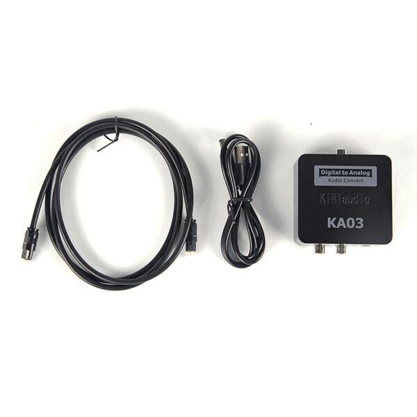 Kiwi KA-03 bộ chuyển đổi âm thanh Digital sang Analog Chính Hãng 04