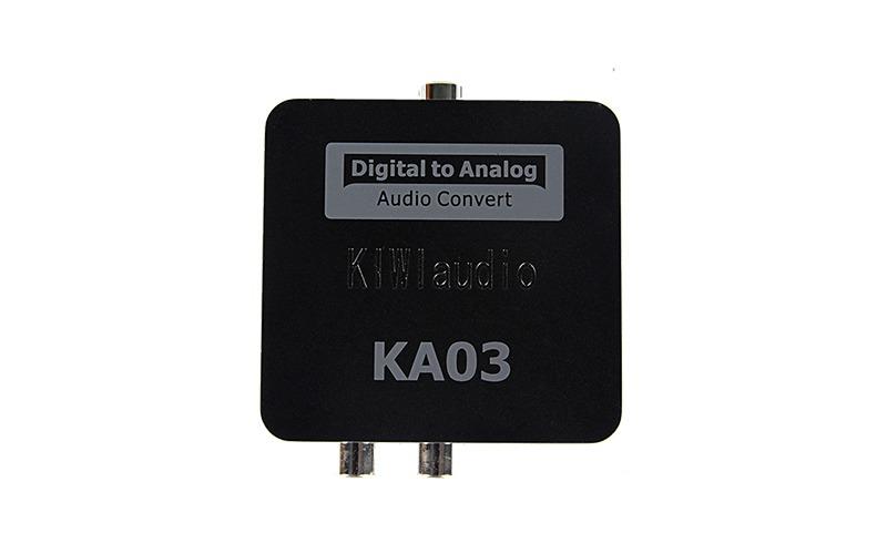 Mặt trên bộ chuyển đổi âm thanh quang kiwi ka03