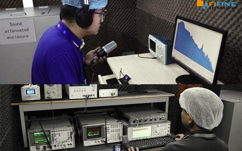 thử nghiệm micro thu âm dành cho máy tính