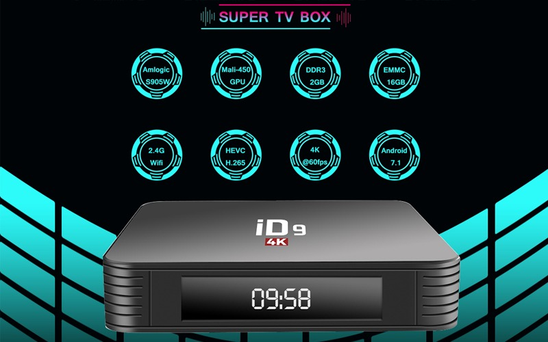 android tv box enybox id9 pro