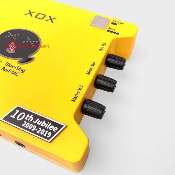 XOX K10 tiếng Anh phiên bản mới 2020 ✅ Phiên bản cải tiến mới ✅ Nâng cấp từ dòng sound card XOX K10 tiếng Trung và XOX KS108 ✅ Âm thanh Cực Hay