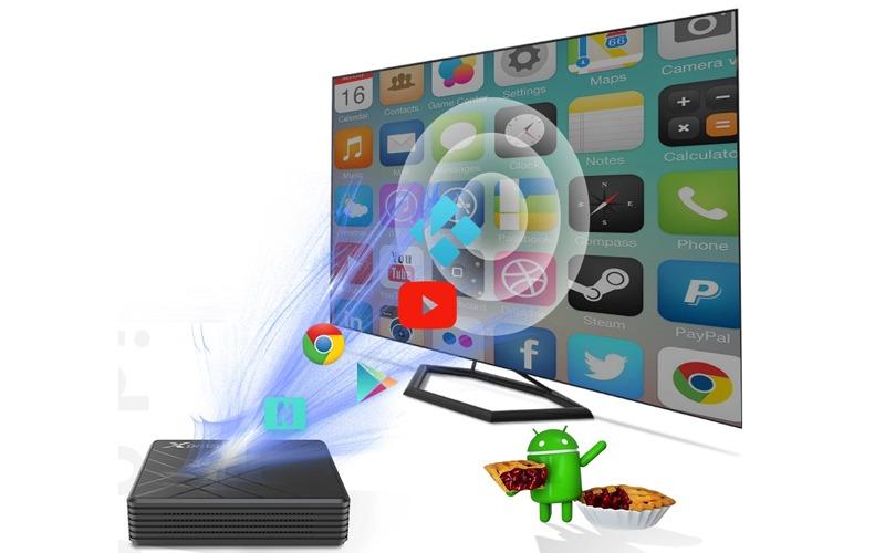 kho ứng dụng phong phú trên enybox 4gb/64gb