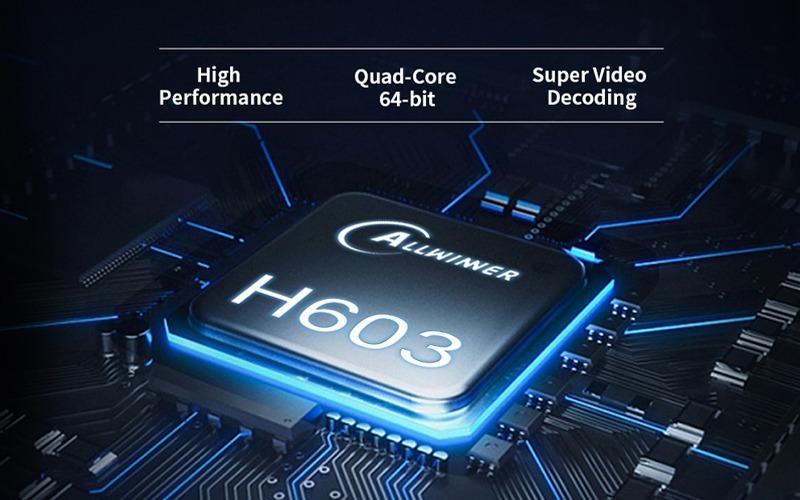 chip allwinner h603 sử dụng trên android tv box giá rẻ Enybox X96M