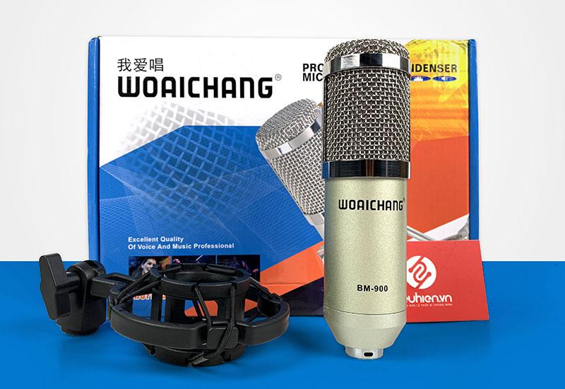 Woaichang BM900 - Mic thu âm giá rẻ với chất lượng âm thanh cực tốt