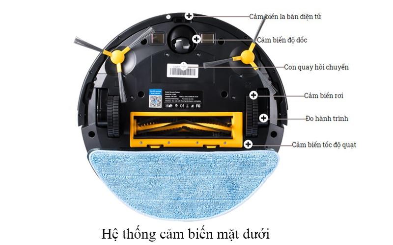hệ thống cảm biến mặt dưới của liectroux c30b