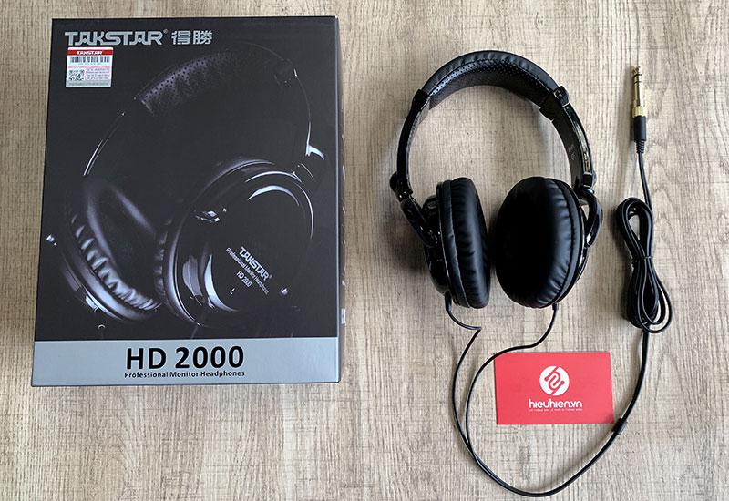tai nghe kiểm âm chuyên nghiệp takstar HD 2000 âm thanh hay