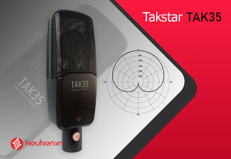Tính năng nổi bật Micro thu âm Takstar TAK35