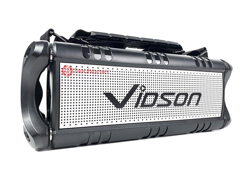 Vidson D8M là dòng loa Bluetooth nghe nhạc Cao Cấp với công suất 50W tặng kèm Micro ✅ Công nghệ Supper Bass, DSP ✅ Chống nước IPX5 ✅ Nghe Nhạc Cực Đã