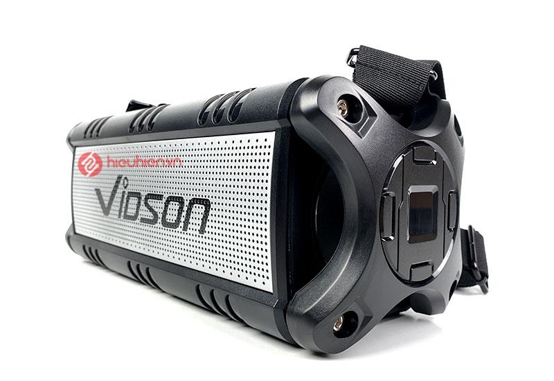 Loa Bluetooth nghe nhạc Vidson D8M được bao bọc bởi lớp nhựa cứng cao cấp