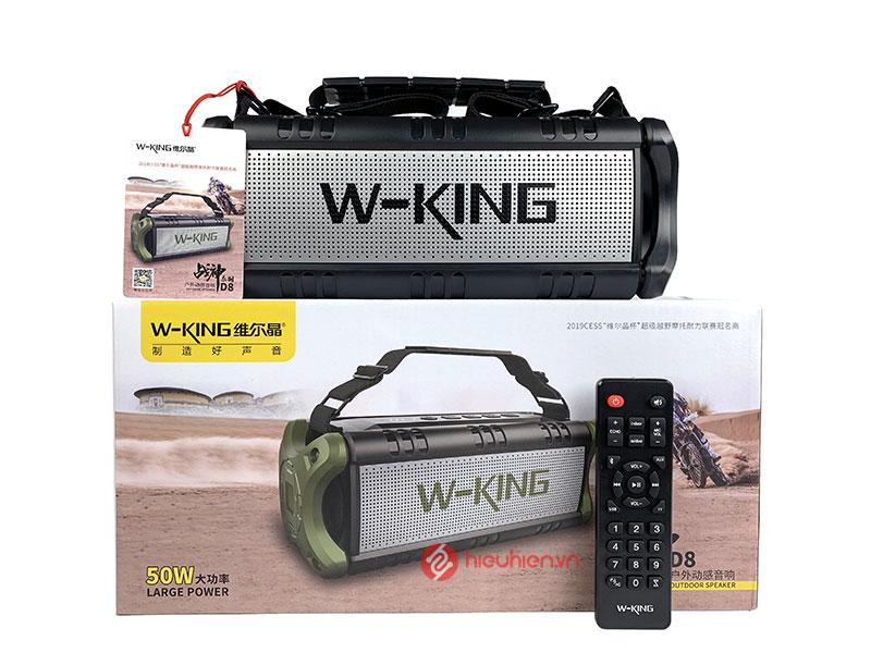 WKing D8 là chiếc loa bluetooth nghe nhạc công suất lớn lên tới 50W