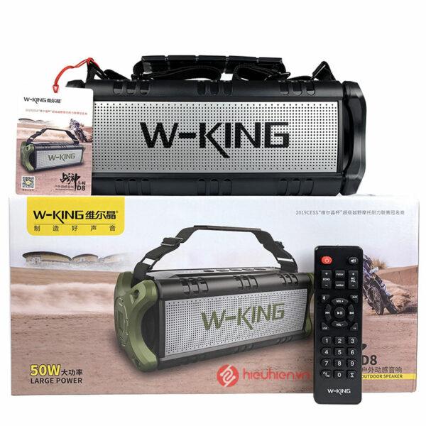 WKing D8 là dòng loa Bluetooth nghe nhạc Cao Cấp với công suất 50W ✅ Công nghệ Supper Bass, DSP ✅ Chống nước IPX5 ✅ Ghép đôi loa TWS ✅ Nghe Nhạc Cực Đã