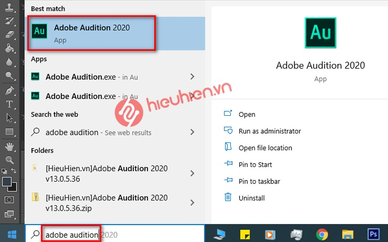 huong dan cai dat adobe audition tren may tinh windows 10