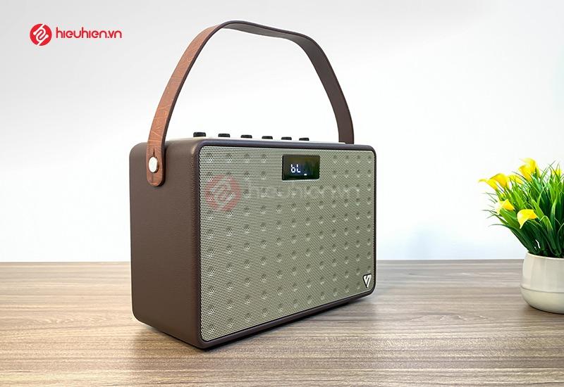 loa karaoke shengyou A5 thiết kế quai xách, tiện lợi dễ dàng mang đi khắp nơi