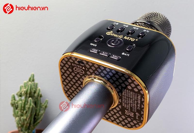 micro karaoke bluetooth cam tay