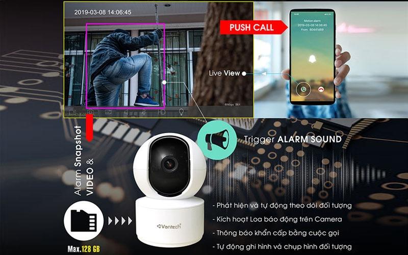 camera wifi vantech AI
