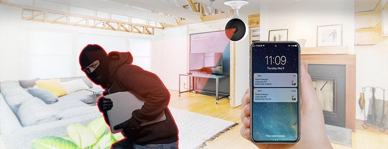 tinh nang human detect tren camera wifi ipc c22ep imou dahua cue 2