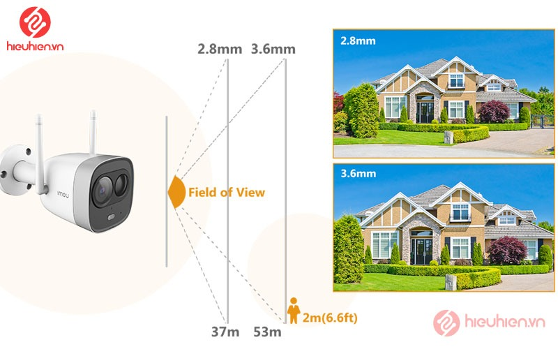 thay doi goc nhin camera wifi imou ipc-g26ep dahua bullet new