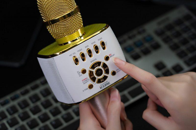 Chức năng hát karaoke của Micro iCore IC-M99