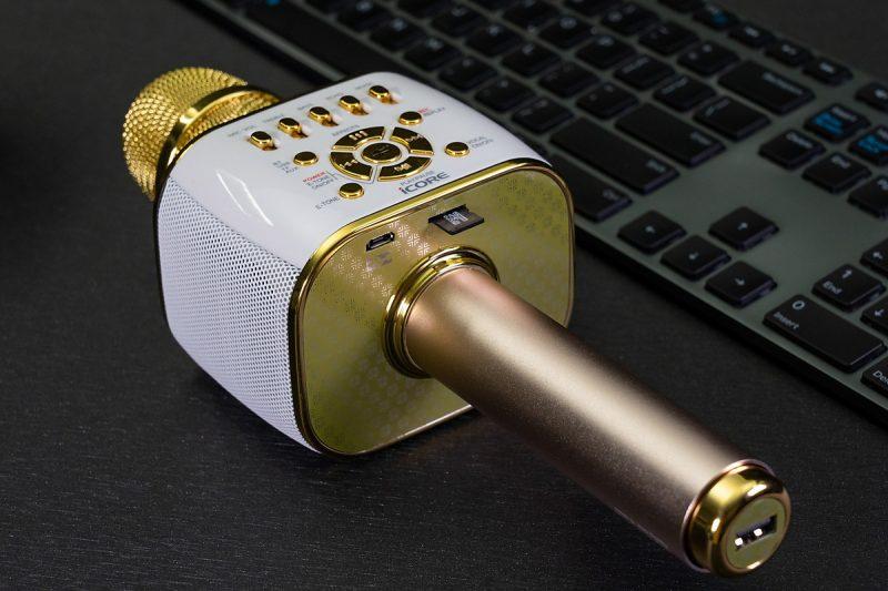 micro karaoke iCore IC – M99 chức năng loa bluetooth