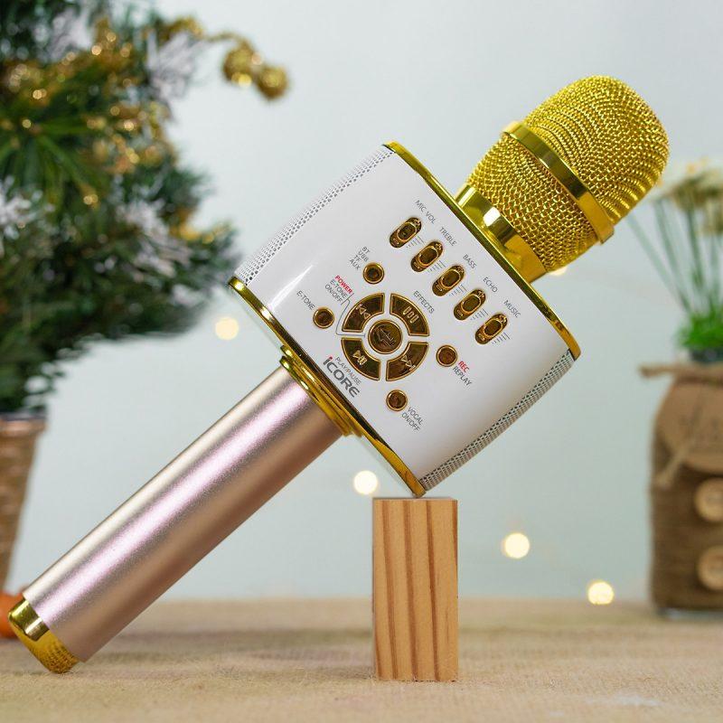 Micro karaoke bluetooth, livestream iCore IC-M99