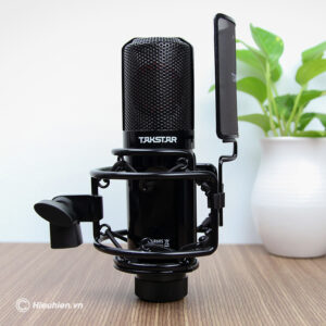 combo micro thu âm takstar pc-k850 + sound card icon upod pro - hình 01