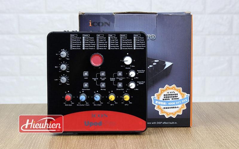 combo micro thu âm takstar pc-k850 + sound card icon upod pro - hình 05