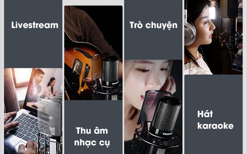 combo micro thu âm takstar pc-k850 + sound card icon upod pro - hình 09